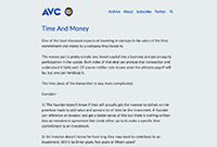 trading resources website - avc