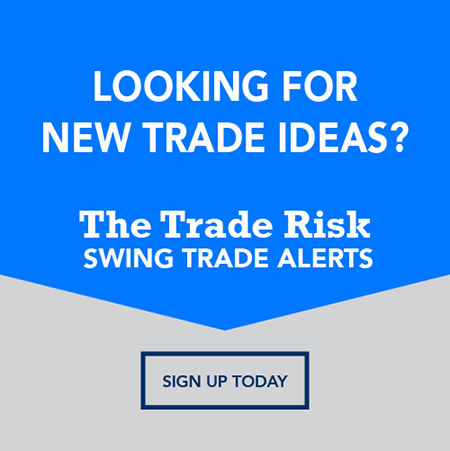 The Trade Risk Swing Trade Alerts Graphic