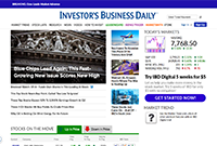 trading resources websites - investors business daily