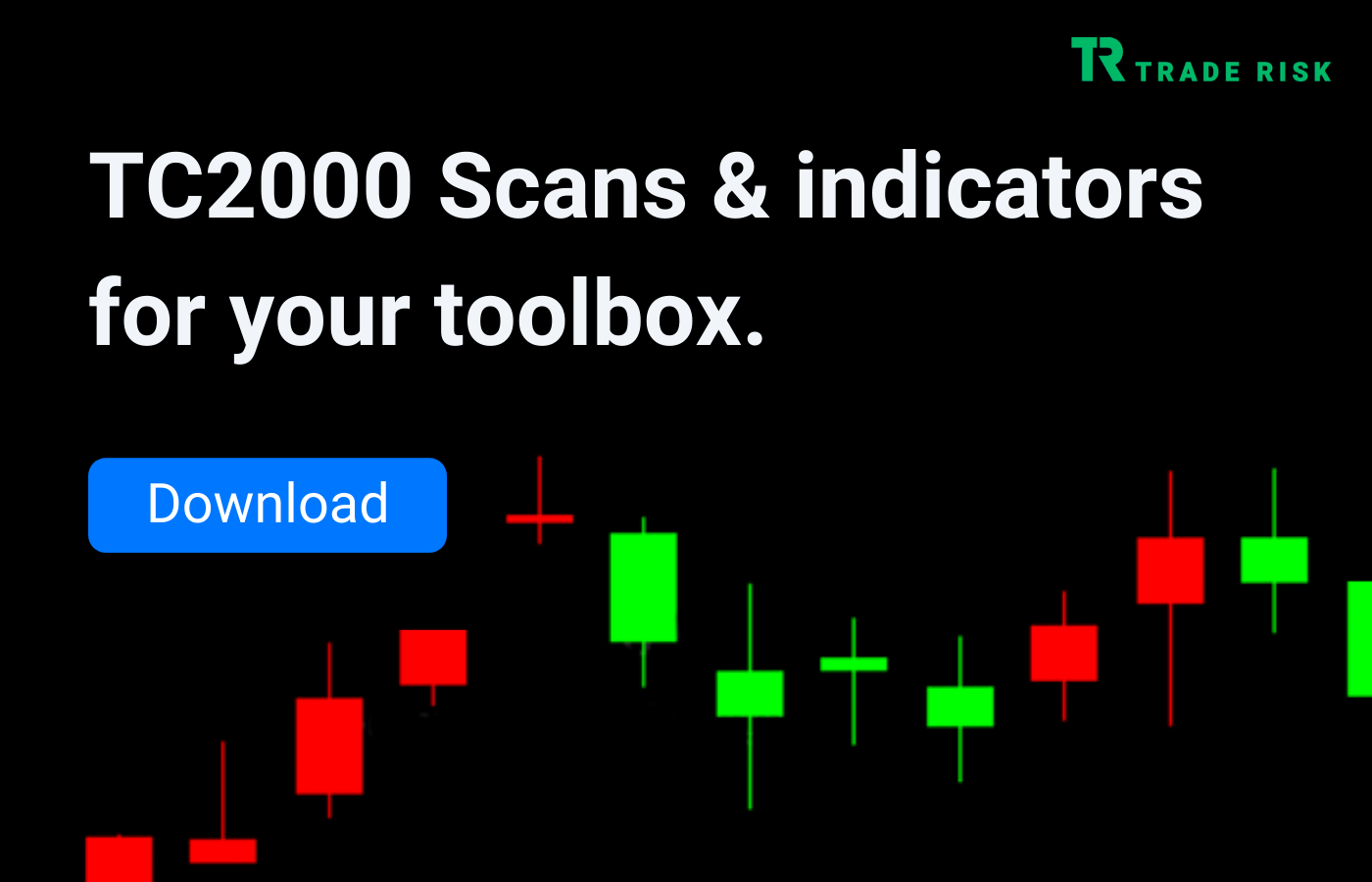 Stock Market Swing Trade Ideas - Image of TC2000 scans ad