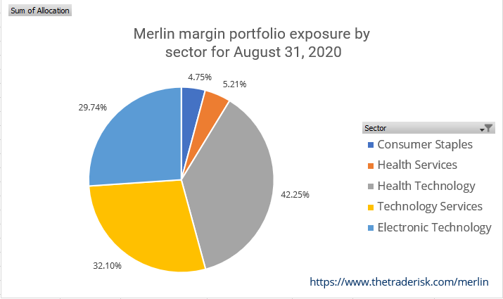 Merlin Strategy Performance - Image of Allocation August 2020