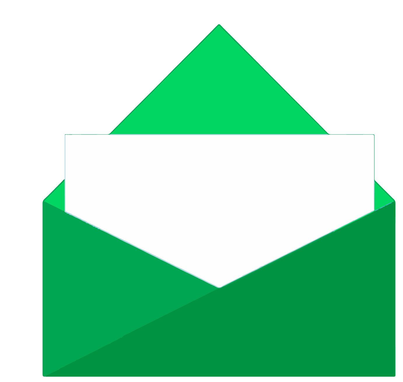 Product Launch Page - Envelope Icon