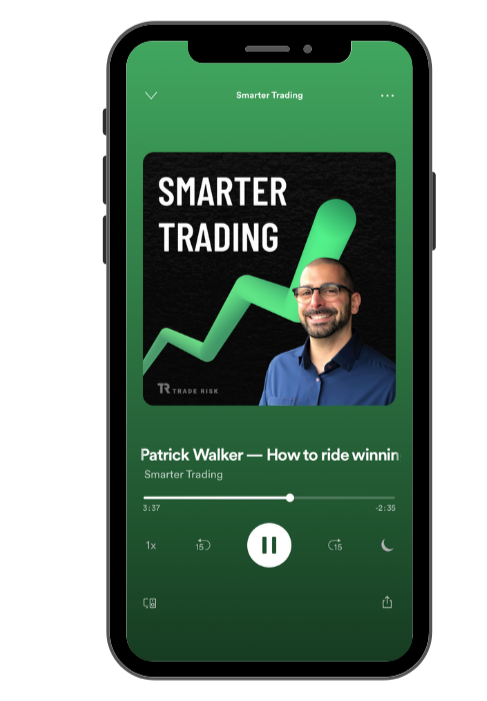 Advertise Sponsorship Page - Image of Smarter Trading Spotify