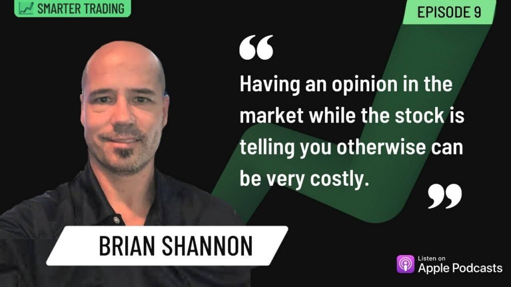 Swing trading using multiple time-frames - Image of Brian Shannon